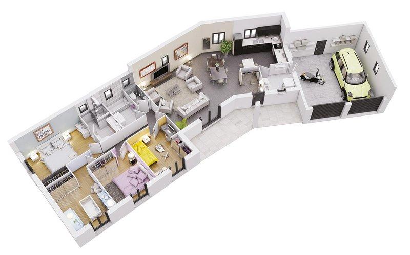 photo de Vente Maison neuve 121 m² à Fronton 283 210 ¤
