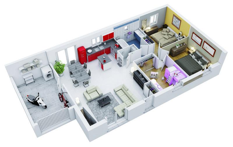 photo de Vente Maison neuve 75 m² à Saint Hilaire 158 398 ¤