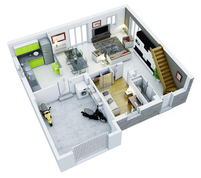 Vente Maison neuve 85 m² à Lherm 188 281 ¤