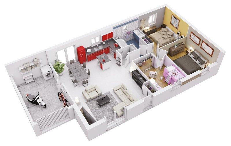 Vente Maison neuve 74 m² à Pechbonnieu 260 150 ¤