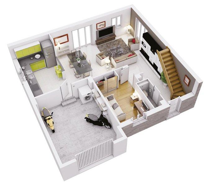 photo de Vente Maison neuve 74 m² à Pechbonnieu 256 174 ¤