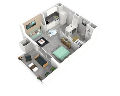 Vente T1 30 m² à Montpellier 119 500 €