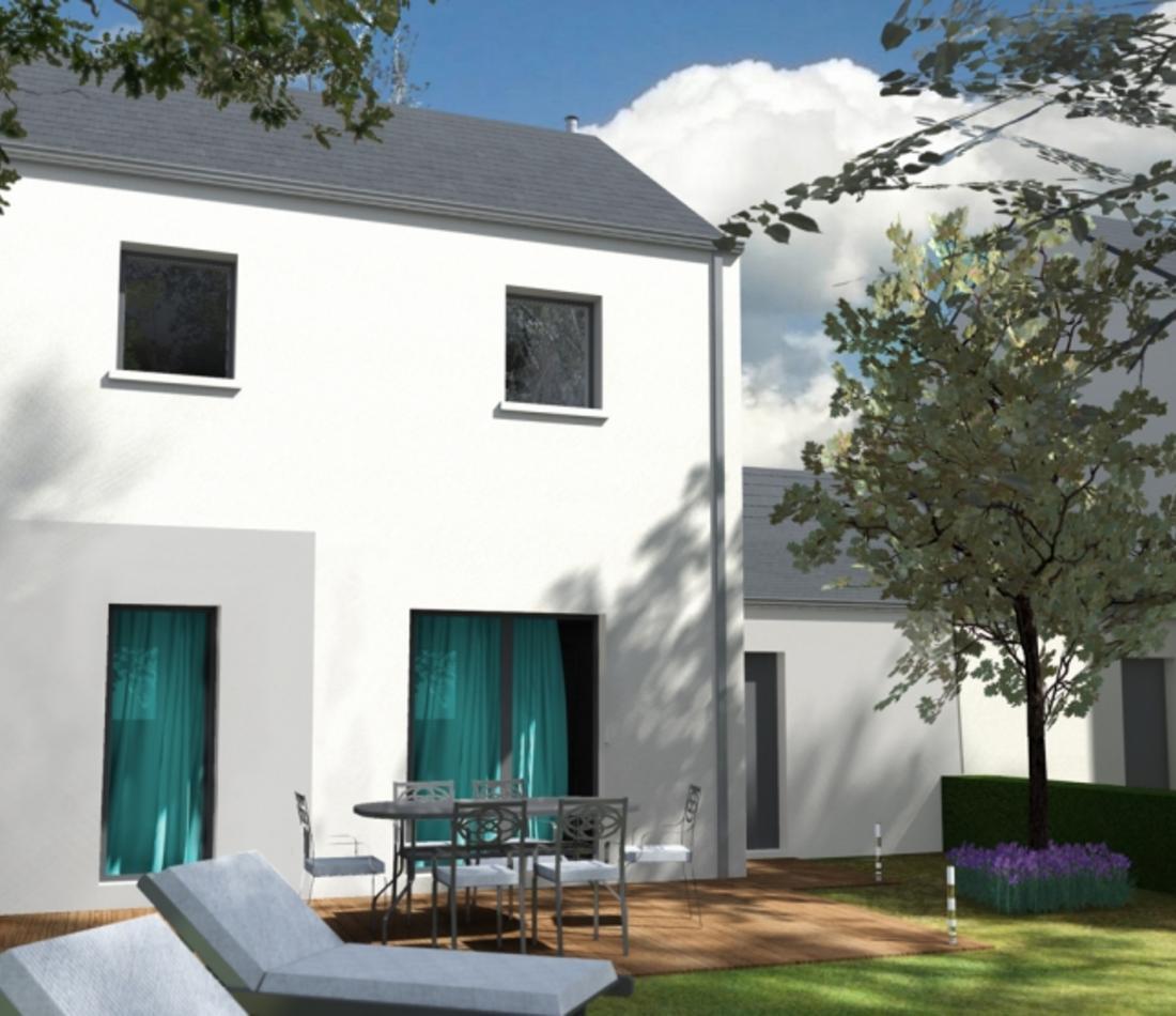 Vente maison neuve nantes 44000 programme neuf 14863463 for Acheter maison neuve deja construite