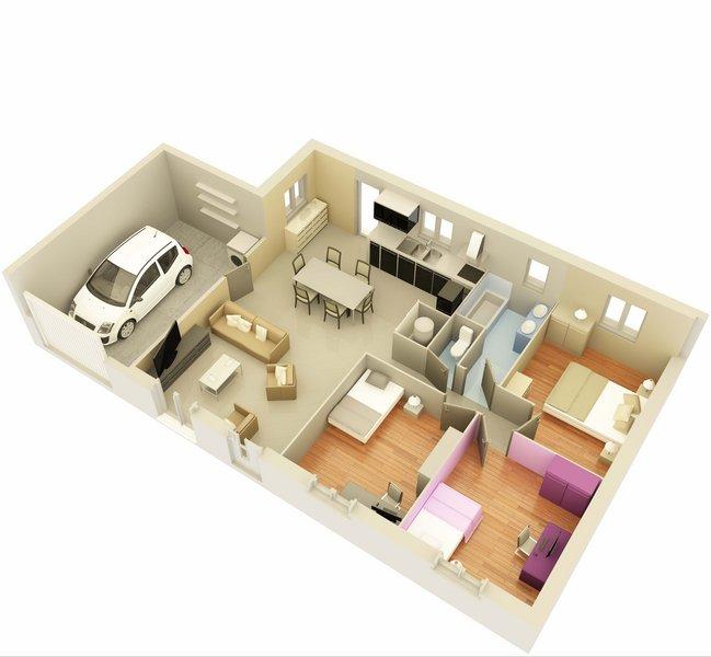 photo de Vente Maison neuve 75 m² à Carpentras 205 119 ¤