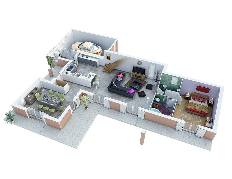 photo de Vente Maison neuve 133 m² à Bagnols sur Ceze 280 664 ¤