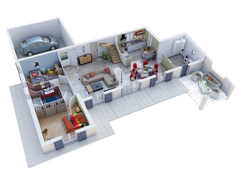 photo de Vente Maison neuve 135 m² à Camaret sur Aigues 273 600 ¤
