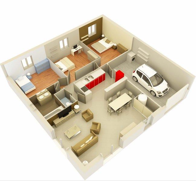 photo de Vente Maison neuve 85 m² à Le Thor 245 900 ¤