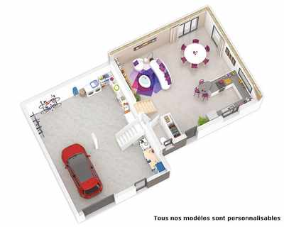 Vente Maison neuve 91 m² à Lanta 281 387 €