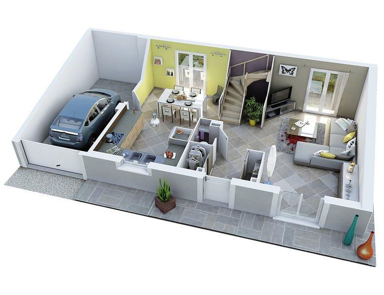 photo de Vente Maison neuve 105 m² à Montfrin 240 800 ¤