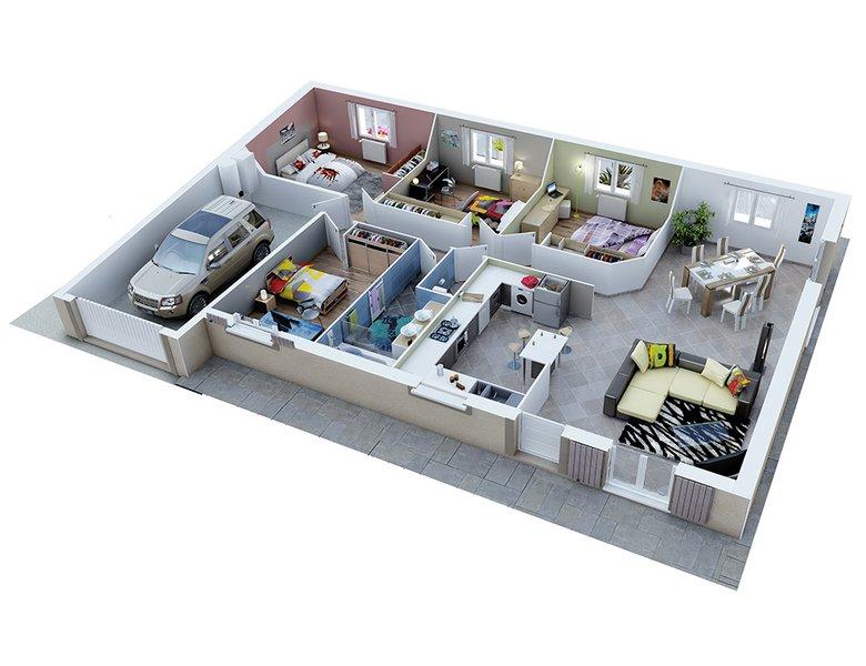 photo de Vente Maison neuve 90 m² à Carsan 167 700 ¤