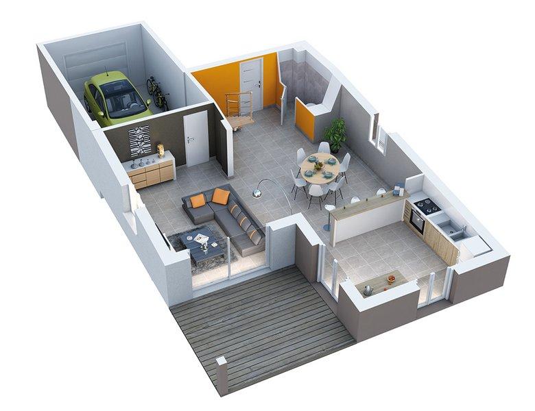 Vente maison neuve 90 m piolenc 205 000 piolenc 84420 for Vente maison neuve 06