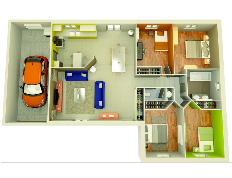 photo de Vente Maison neuve 90 m² à Saint Marcel d Ardeche 189 800 ¤
