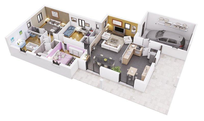Vente Maison neuve 100 m² à Cepet 249 061 ¤