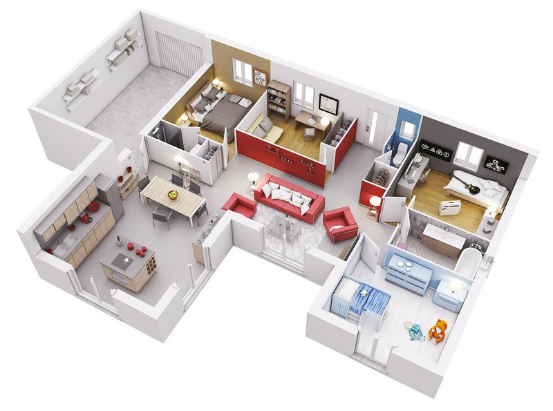 Vente Maison neuve 99 m² à Pechbonnieu 274 779 ¤