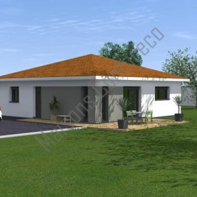 Maison 4 pièces 648 m²