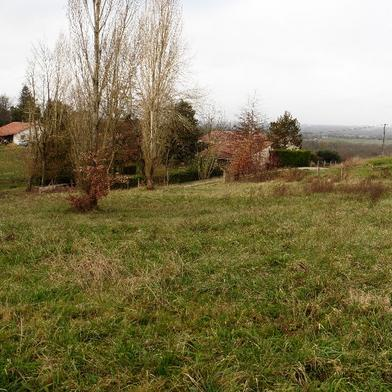 Terrain 1747 m²