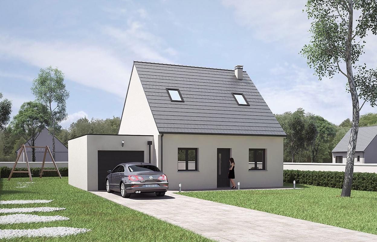 Maison à construire 4 pièces 81 m²