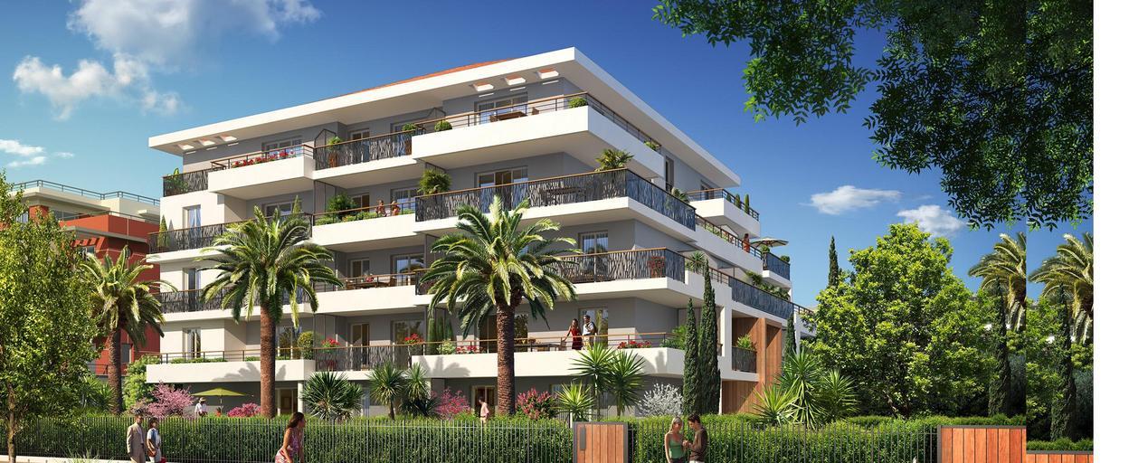 Programme neuf appartement neuf 2 pièces Cannes (06400) À partir de 210 000 €