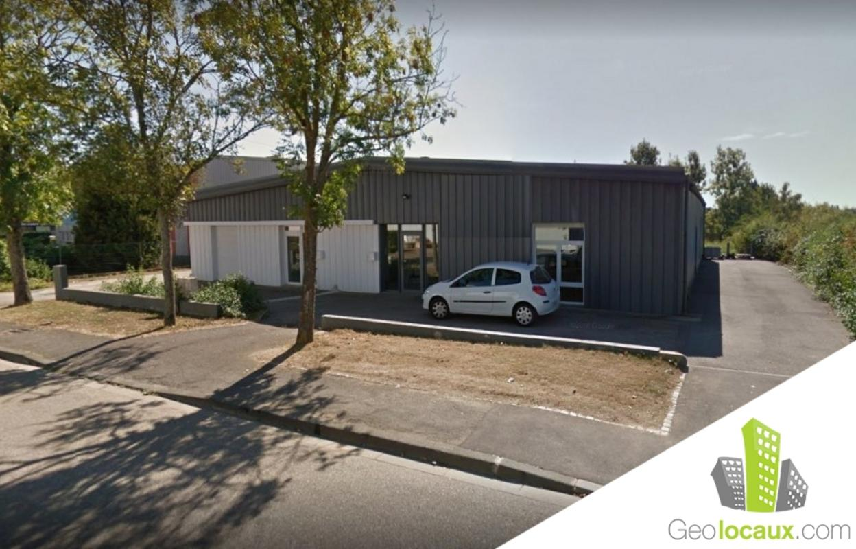 Local industriel 200 m²