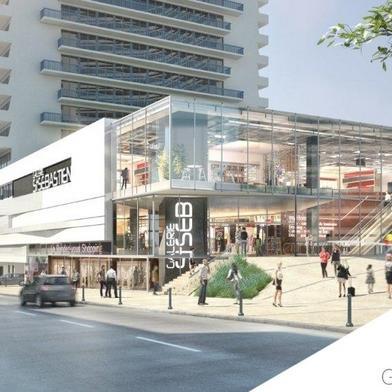 Commerce 2725 m²