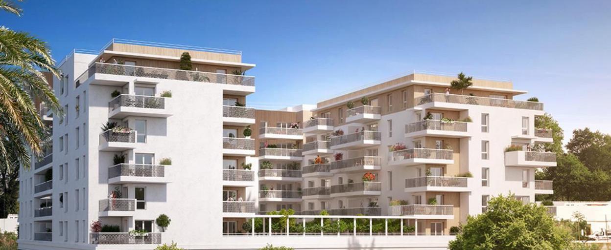 Programme neuf appartement neuf 2 pièces Nice (06300) À partir de 241 000 €