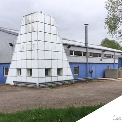 Local industriel 730 m²