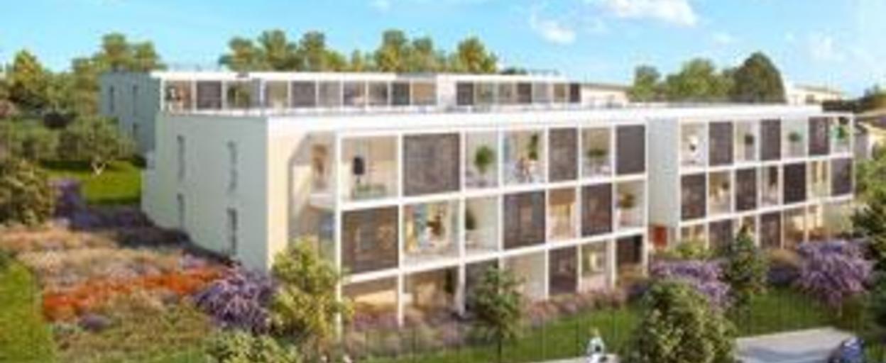 Programme neuf appartement neuf 2 pièces Marseille (13013) À partir de 174 000 €