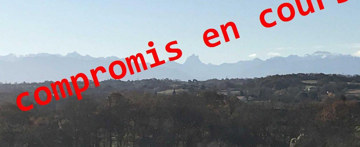 Achat terrain  Thèze (64450) 63 000 €