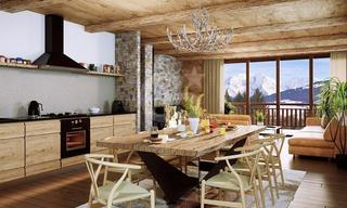 Achat appartement neuf 4 pièces Combloux (74920) 598 400 €
