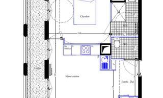 Achat appartement 2 pièces PARIS 18EME ARRONDISSEMENT (75018) 389 000 €