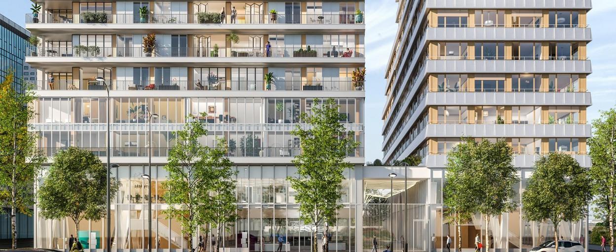 Achat appartement neuf 2 pièces Paris 13 (75013) 670 000 €