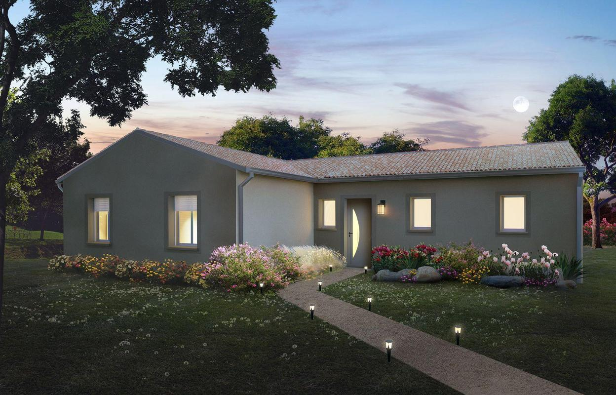 Maison à construire 4 pièces 103 m²