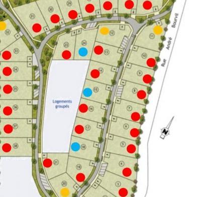 Terrain 514 m²