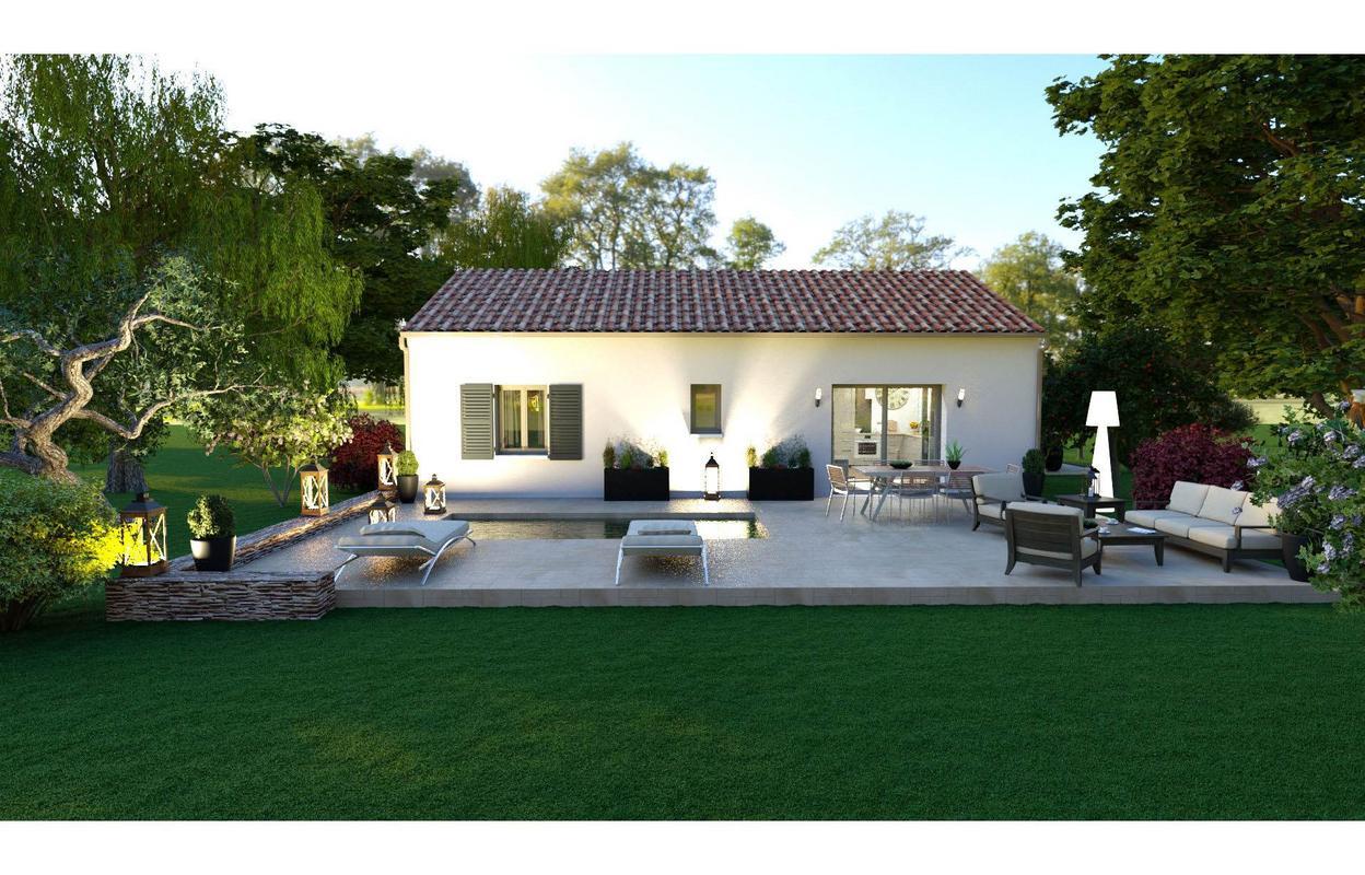 Maison à construire 4 pièces 75 m²