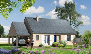 Achat maison neuve 7 pièces Charentilly (37390) 166 905 €