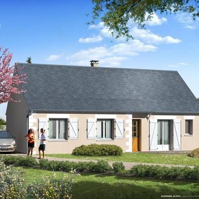 Maison à construire 3 pièces 91 m²