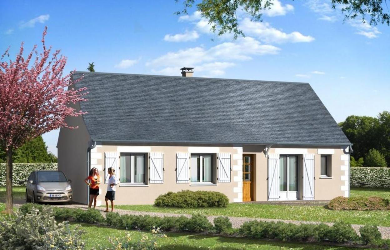 Maison 3 pièces 94 m²