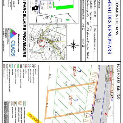 Terrain à construire 517 m²