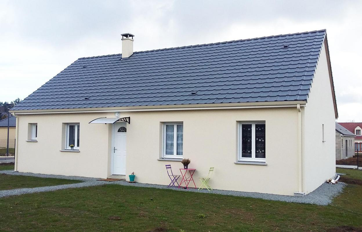 Maison 4 pièces 72 m²