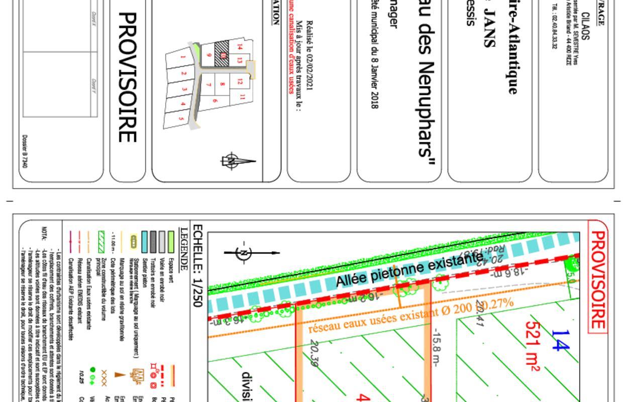Terrain à construire 479 m²