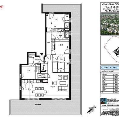 Appartement 5 pièces 111 m²
