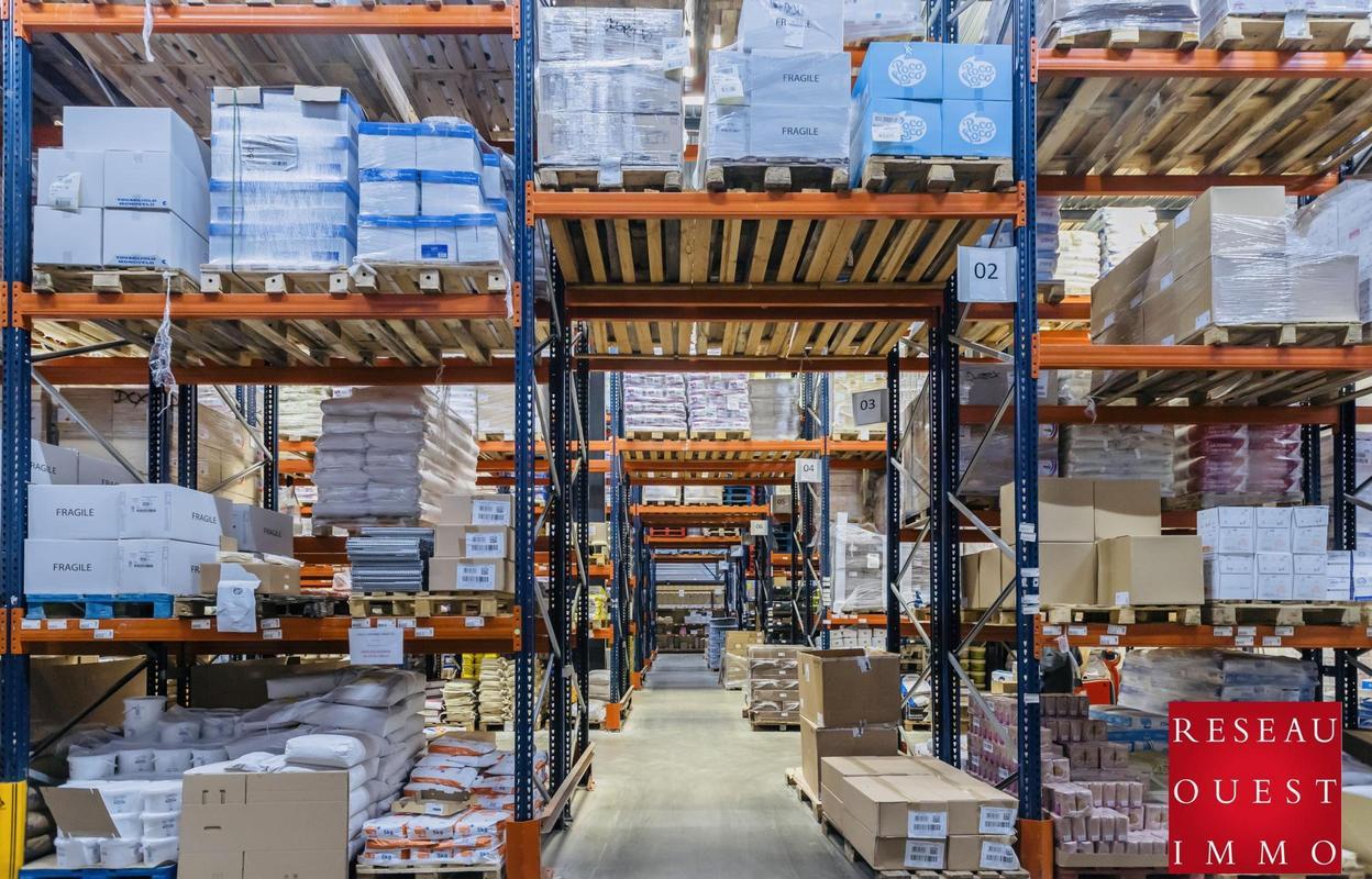 Local industriel 3400 m²