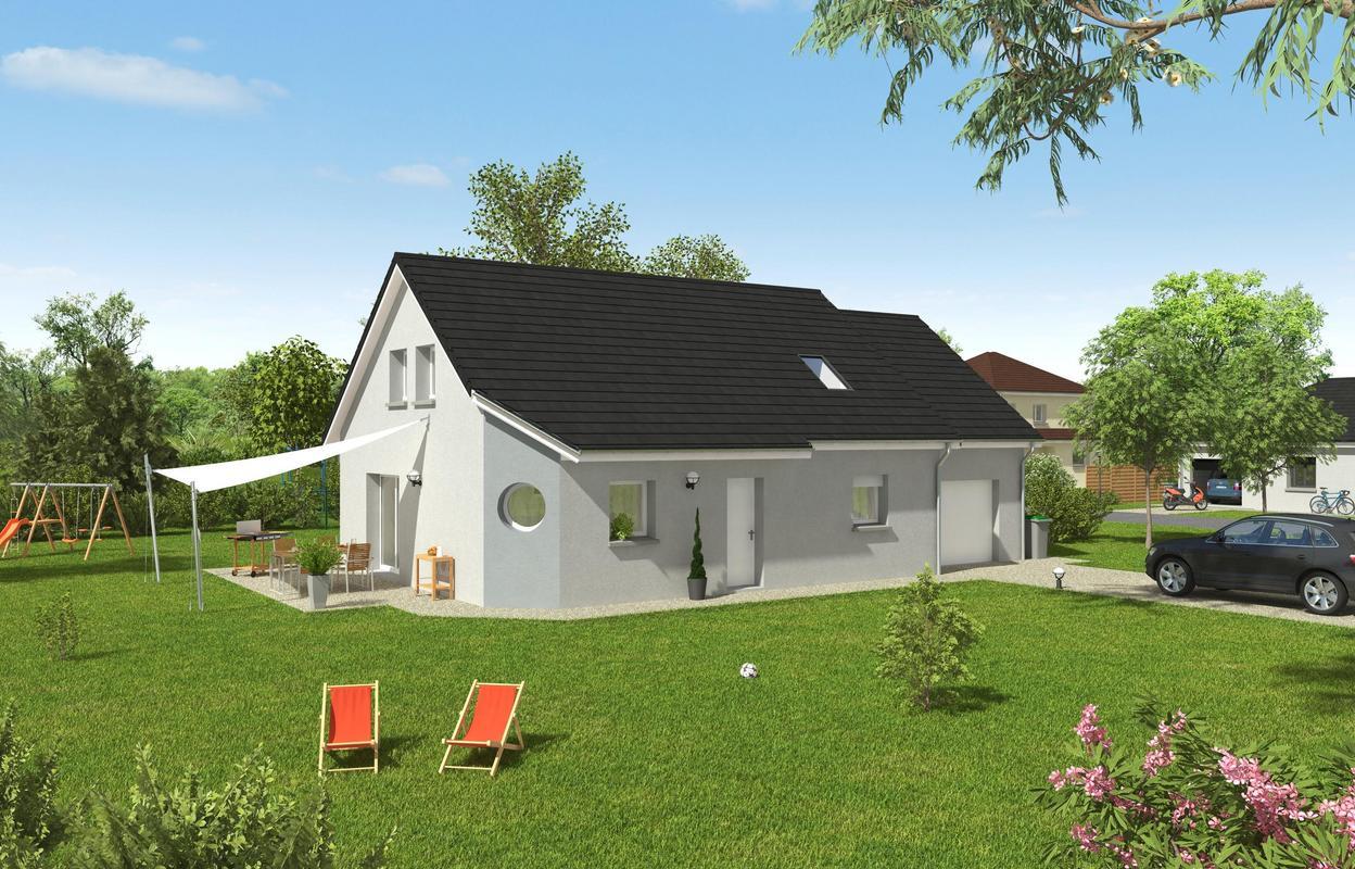 Maison à construire 4 pièces 100 m²