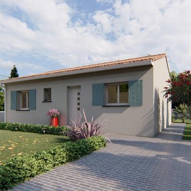 Maison à construire 3 pièces 63 m²