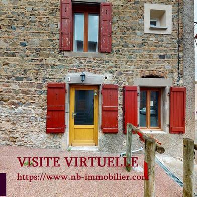Maison 2 pièces 35 m²