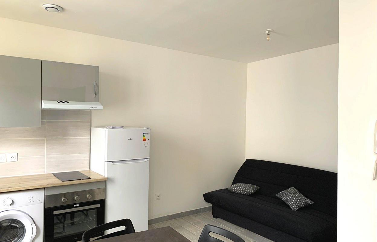 Appartement 1 pièce 19 m²