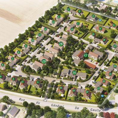 Terrain 475 m²