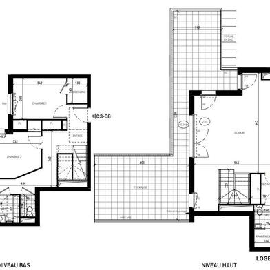 Appartement 5 pièces 115 m²