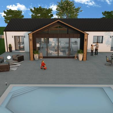 Maison 4 pièces 999 m²