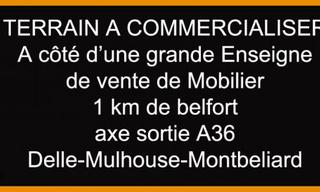 Achat terrain  Belfort (90000) 265 000 €